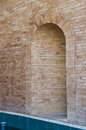 Arch door. Royalty Free Stock Photo