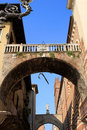 The arch of the Rib, Verona Royalty Free Stock Photography