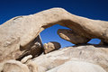 Arch Rock Joshua Tree National Park Rock Formation Royalty Free Stock Photo