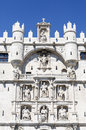 Arch santa maria gateway to the city of burgos spain one twelve ancient gateways europe in middle ages first built in xiv xv Stock Images