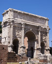 Arch of Septimius Severus Royalty Free Stock Photos