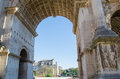 Arch of septimius severus beautiful the in the foro romano rome Stock Photo