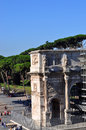 Arch of septimius severus roman forum this is the in the in rome italy Stock Photos