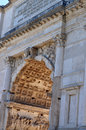 Arch of septimius severus roman forum this is the in the in rome italy Royalty Free Stock Photos