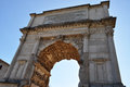 Arch of septimius severus roman forum this is the in the in rome italy Stock Photo