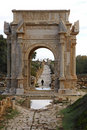 Arch of Septimus Severus Stock Images