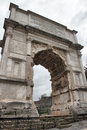 The Arch of Titus Stock Photo