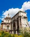 The Arch of Titus Royalty Free Stock Photo