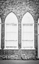 Arch window Royalty Free Stock Photo