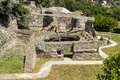 Archaeological site in baia near naples the of is located part of bacoli area of ​​campi flegrei Stock Image