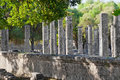 Archaeological Site of Olympia, Greece. Stock Photography