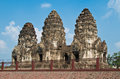 Archaeological Thailand Royalty Free Stock Photo