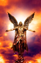 Archangel Michael Royalty Free Stock Photo