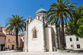 Archangel michael church st hegceg novi montenegro Royalty Free Stock Image