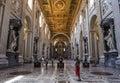 Archbasilica of Saint John Lateran, Rome, Italy Royalty Free Stock Photo