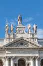 Archbasilica of st john lateran in rome italy the papal arcibasilica papale di san giovanni laterano the official ecclesiastical Royalty Free Stock Photography