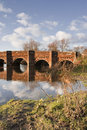 Arched bridge Stock Images