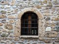 Arched Church Window Royalty Free Stock Photo