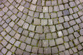 Arched Cobble Stone Patio Royalty Free Stock Photo