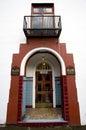 Arched doorway Stock Photos