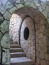 Arched Stone Doorway Stock Photography