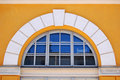 Arched window Royalty Free Stock Image