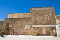 Archeological area of brindisi puglia italy perspective the Stock Photos