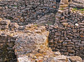 Archeological dig of the city of tanais founded in the first quarter of the rd century by greek colonists Stock Photo