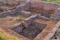 Archeological dig of the city of tanais founded in the first quarter of the rd century by greek colonists Royalty Free Stock Images