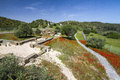 Archeological and historical location wide view of an in alcoutim portugal Stock Photo