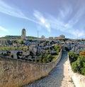 Archeological park di botromagno at gravina puglia Stock Photography