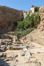 Archeological site chania crete in greece Royalty Free Stock Photos