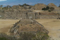 Archeological site of Monte Alban UNESCO World Her Stock Photos