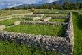 Archeological site-Sarmizegetusa Stock Photos