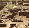 Archeological site in the south photo Royalty Free Stock Photos