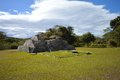 Archeological site of tenam puente in chiapas mexico Royalty Free Stock Images