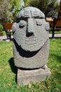 The archeology museum of ancash artifacts at huaraz peru Royalty Free Stock Image