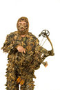 Archer in Camo Royalty Free Stock Photo