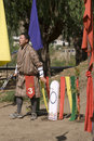 Archer, Paro, Bhutan Royalty Free Stock Image