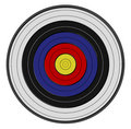 Archer's target Royalty Free Stock Images