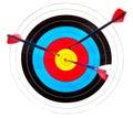 цель archery Стоковое Изображение RF