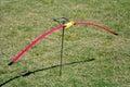 Archery bow ready to be use Stock Photos