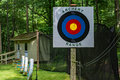 Archery Range Royalty Free Stock Photo