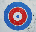 Archery target Royalty Free Stock Photos