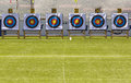 Archery target rings Royalty Free Stock Photo