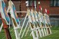 Archery Targets Stock Photo