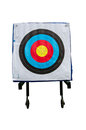 Archery targets inspiration to successful with target Royalty Free Stock Photography