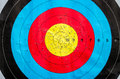 Archery targets inspiration to successful with target Stock Photo