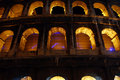 Arches of the Colosseum Royalty Free Stock Photo
