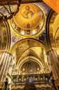 Arches Jesus Dome Crusader Church Holy Sepulcher Jerusalem israel Royalty Free Stock Photo